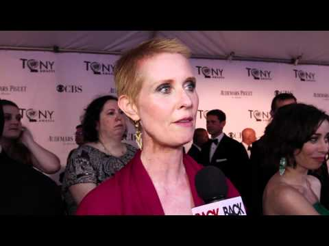 Tony Interview: Cynthia Nixon