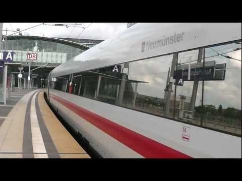 ICE 278 von Interlaken Ost nach Berlin Ostbahnhof + S-Bahn + ICE 875 von Berlin Ostbahnhof nach Basel SBB.Aufgenommen am 12.08.2011 in Berlin Hbf.