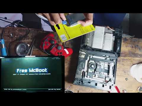 Cara membuat ps2 kaset bisa membaca flasdisk