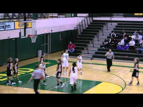 Fremd HS Girls JV Basketball 2010  - Cristina clips