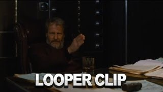 Looper Clip: I Put A Gun In Your Hand