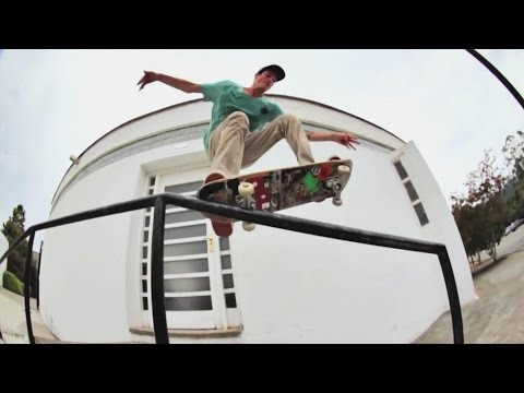 Dani Millán's Future Islands: A European Street Skating Montage
