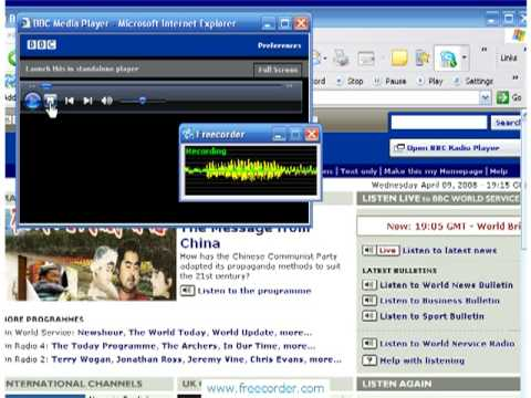 How to record any sound playing on your PC for FREE (Freeware sound recorder Freecorder Toolbar)