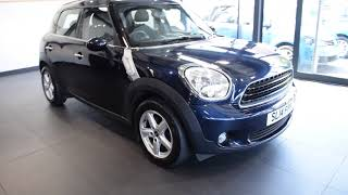 USED  MINI COUNTRYMAN 1.6 ONE 5DR 98 BHP excellent service history