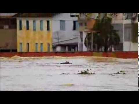 Nova Venécia - enchente 2013