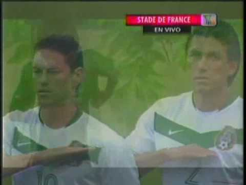 Mexican National Anthem Vs France video
