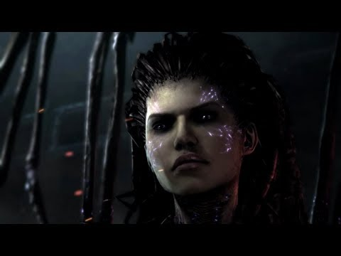 StarCraft II: Heart of the Swarm Movie Cutscenes