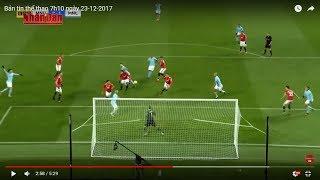 Tin Thể Thao 24h Hôm Nay (7h - 23/12): Man Utd và Man City Thoát Án Phạt từ FA vì Vụ Ẩu Đả