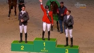 American Beezie Madden Becomes WC Jumping Champ - Universal Sports