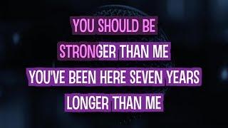 Stronger Than Me (Karaoke Version) - Amy Winehouse | TracksPlanet