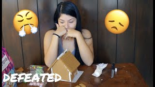GINGERBREAD HOUSE GONE WRONG