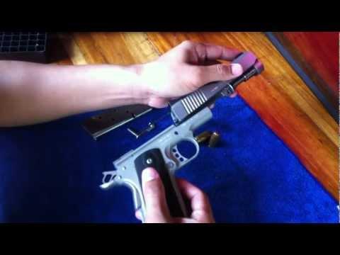 ถอดประกอบปืน kimber