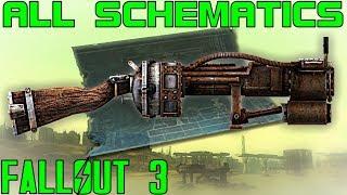 Fallout 3: All Schematics Guide (Vanilla)