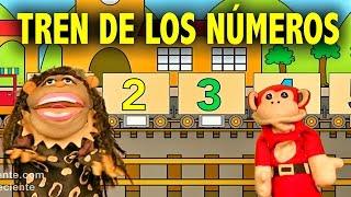 La Canción de los Numeros del 1 al 10 - El Mono Silabo y Nicola Cavernicola - Videos para niños