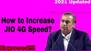 how to increase jio 4g speed don't be fool...