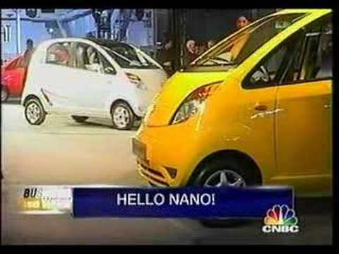 India 9th Auto Expo 2008 TATA Motors  nano  car