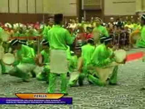 BTPN Pahang 2013 | Pertandingan Paluan Kompang dan Formasi Kebangsaan 2013