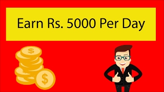 Earn Rs. 5000 Per Day By Just Working 1 Hour   Earn By Online Job   Ean 50000 Per Month   Adfly