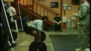 CrossFit training - US Army Fitness Programs