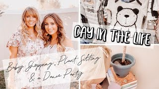 Day in the Life | Baby Shopping, Plant Sitting & a Dance Party
