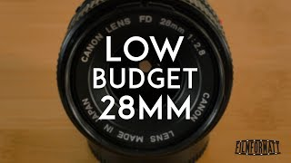 Canon FD 28mm F2.8 Review