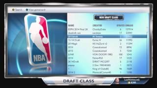 NBA 2K14 Next Gen Best Draft Class | My GM | NBA 2K15 Roster Rookies - Andrew Wiggins | Xbox One PS4