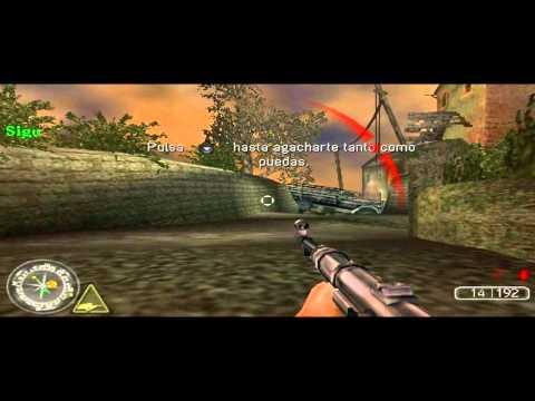 Explicación, calificación y gameplay de Call Of Duty Roads To Victory para PSP en español HD