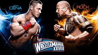 The Rock Vs John Cena Wrestlemania 28 Official Promo - Once In A Lifetime