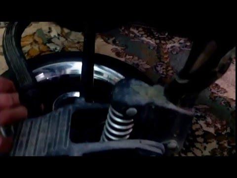 Как отремонтировать тормоз на коляске адамекс