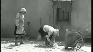 Laurel and Hardy Dancing and Cleaning by Kitaro's Tienshan
