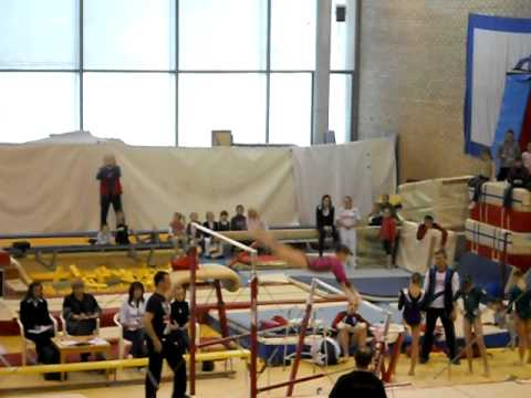 Anastasia Grishina 2012 Moscow Championships Uneven Bars - double double