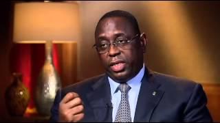 """Macky Sall à la VOA : """" L' Afrique n'est pas là pour quémander de l'aide """""""
