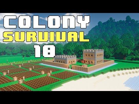 Прохождение COLONY SURVIVAL: #10 - ЗАМОК 1.0, KERNEXBERG. КРАТКО!