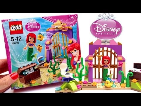 Lego Disney Princess Ariel Little Mermaid Disney Toys ラプンツェルの塔