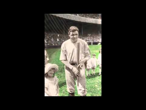 Babe Ruth: A Legend in Color (Photo Restoration & Colorization)
