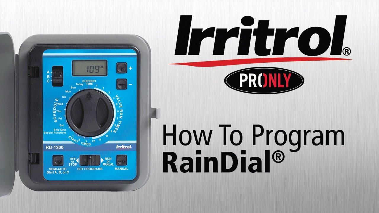 Dial Controller Your Rain Dial Controller