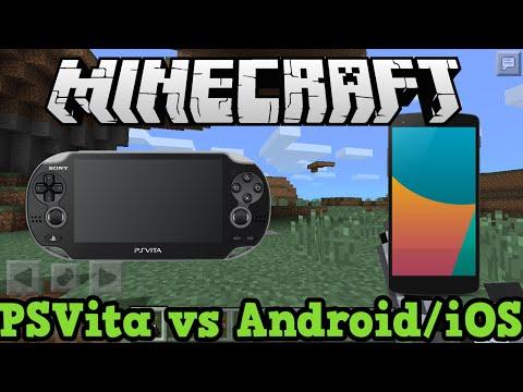 Minecraft PS Vita vs Minecraft Pocket Edition (iOS/Android) Comparison