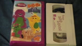 Opening and Closing to Barney: Let's Go to the Beach 2006 VHS