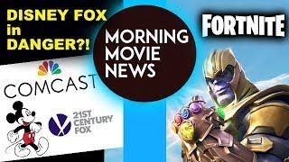 Comcast threatens Disney Fox Deal! Thanos joins Fortnite