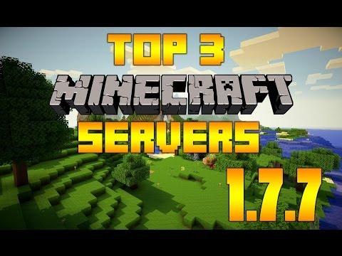 TOP 3 Minecraft Multiplayer Servers 1.7.9 [IP in Description]