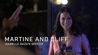 Download Lagu Martine and Cliff: Isabelle Daza's Speech Gratis STAFABAND