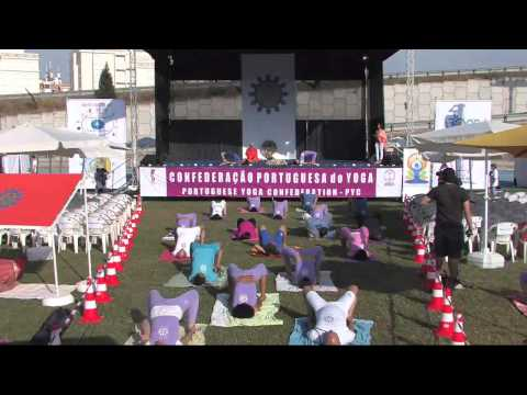 Celebrations of the International Day of Yoga - Lisbon