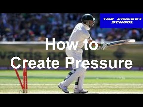 Hd Cricket Bowling Tips & Lessons On How To Bowl To Create Pressure In Matches video