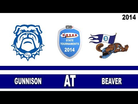 2A State Football: Gunnison vs Beaver High School