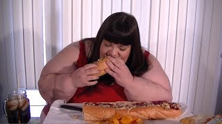 Capriotti's The Bobbie a Turkey, Stuffing, and Cranberry Sandwich Mukbang | Eating Show
