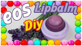 Eos Ombré Lipbalm DiY -  How to make