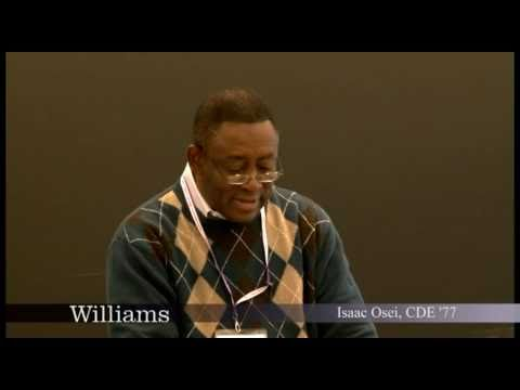 Isaac Osei CDE '77: Williams College Center for Development Economics 10.12.10