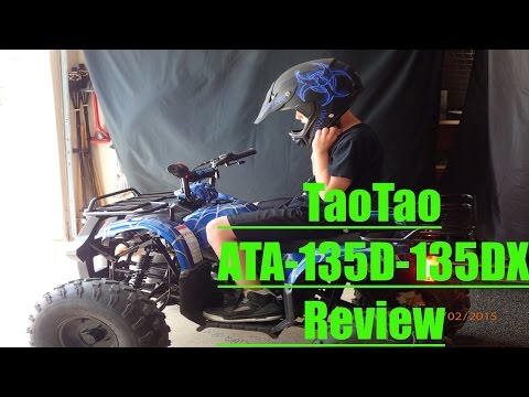 ATV-125cc -T135DX Tao Tao (Review)