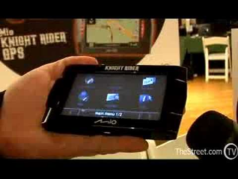 Knight Rider GPS Video