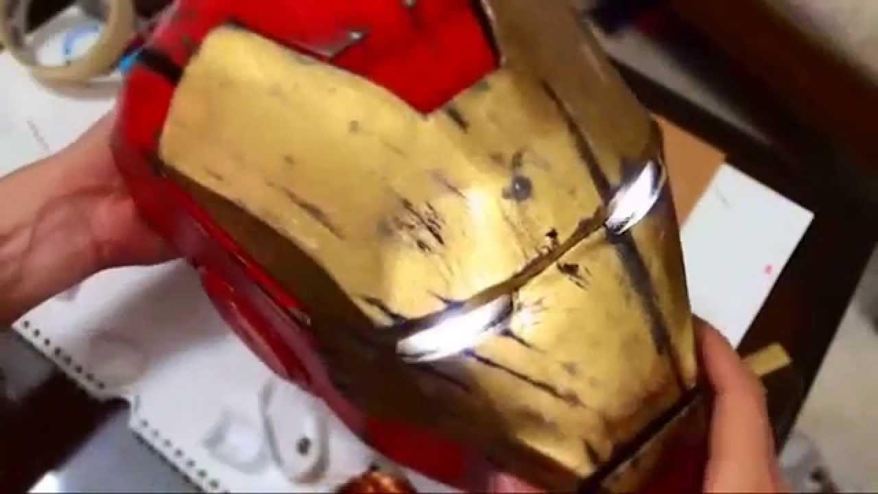 Tutorial Helmet Iron Man 15 Iron Man Mark 4 Helmet